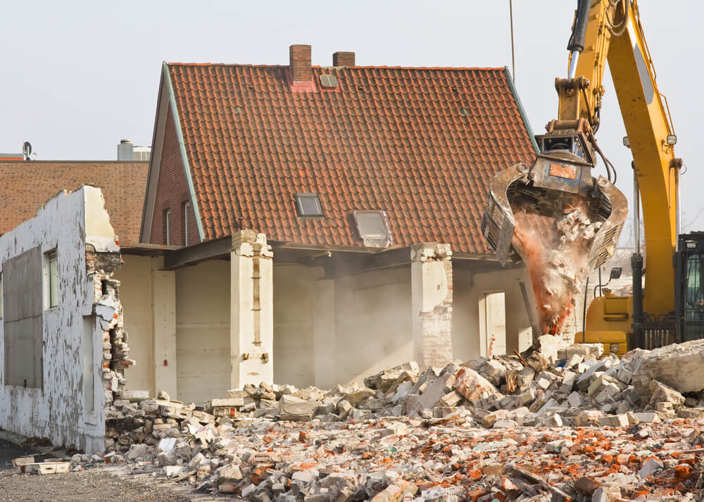 maison en destruction